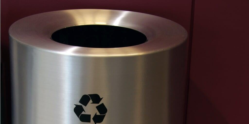 waste bin metal spinning